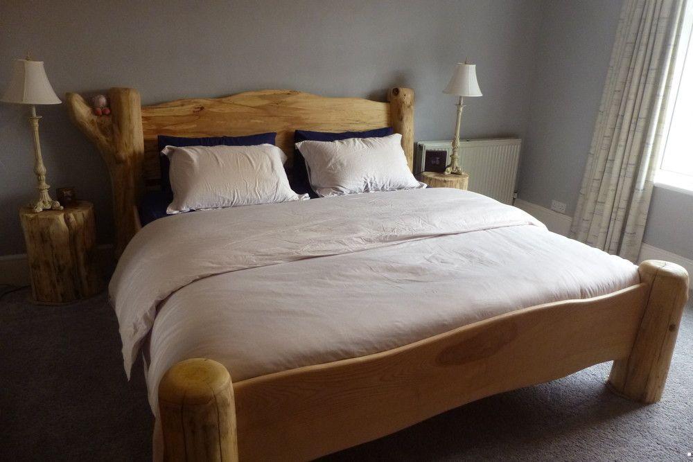 handmade-driftwood-bed | кровать | Pinterest | Driftwood, Ranges and ...