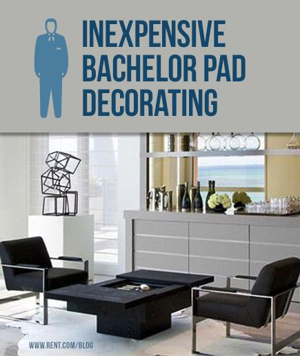 Inexpensive bachelor pad decorating apartments for Stylish bachelor pad