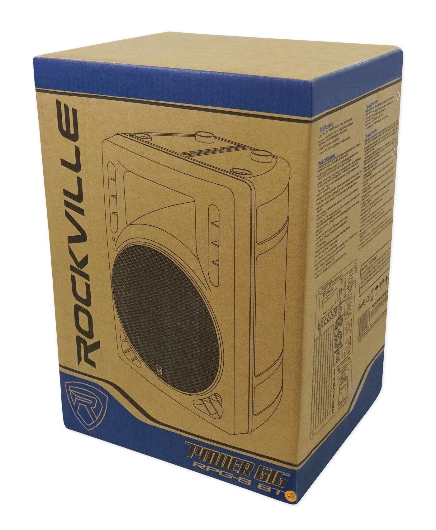 Rockville Bluetooth 8 Android/ipad/iphone/Laptop/TV Pro