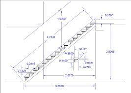 Resultado de imagen para escalera en l medidas stairs for Como calcular una escalera