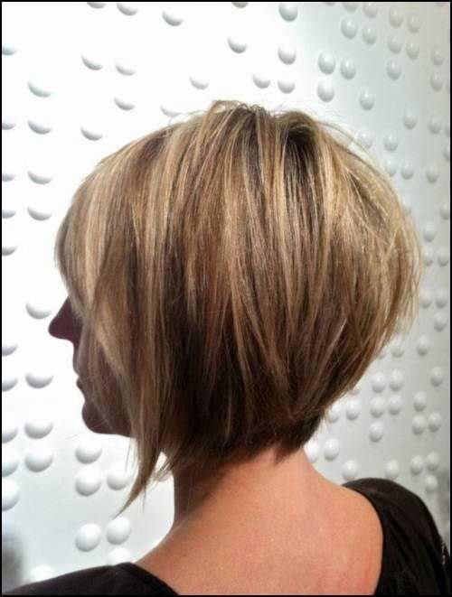 layered bob view hair