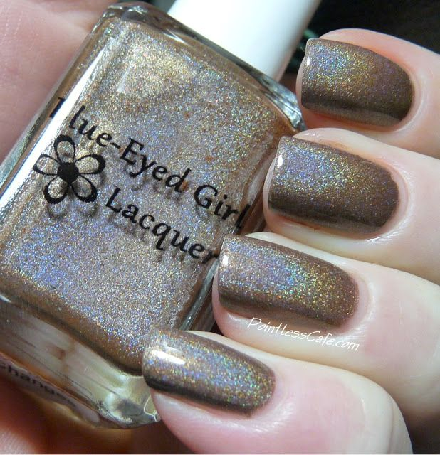 Blue-Eyed Girl Lacquer - Holos! | Pointless Cafe I'M GOING THROUGH SOME CHANGES