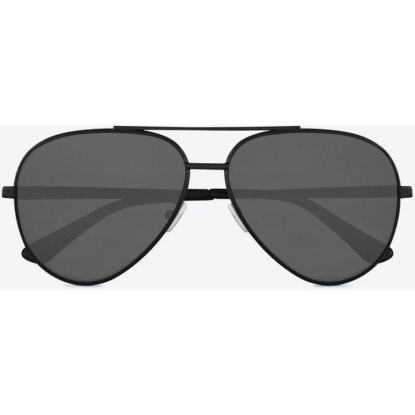 d6fd4f2c2d0 Saint Laurent Classic 11 Zero Sunglasses (548 CAD) ❤ liked on Polyvore  featuring accessories, eyewear, sunglasses, yves saint laurent eyewear, ...