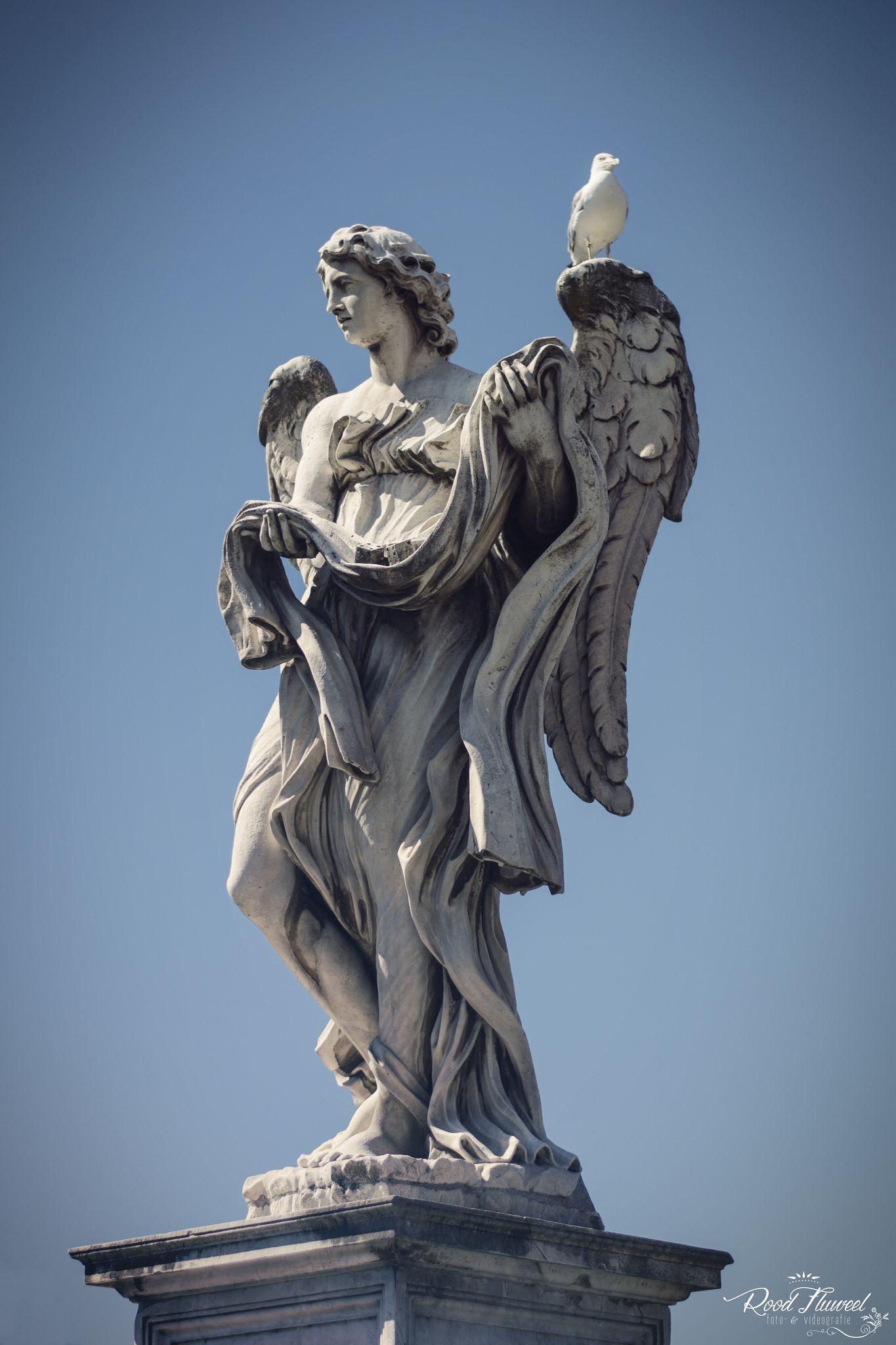 RoodFluweel photography      Angels, 2013   Bernini, Rome