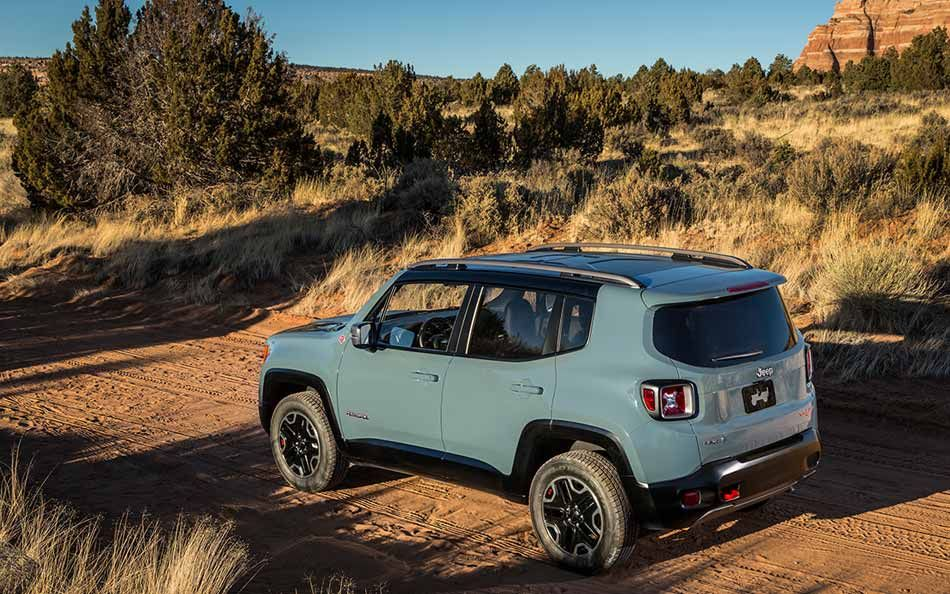The AllNew 2015 Jeep® Renegade Trailhawk® is equipped