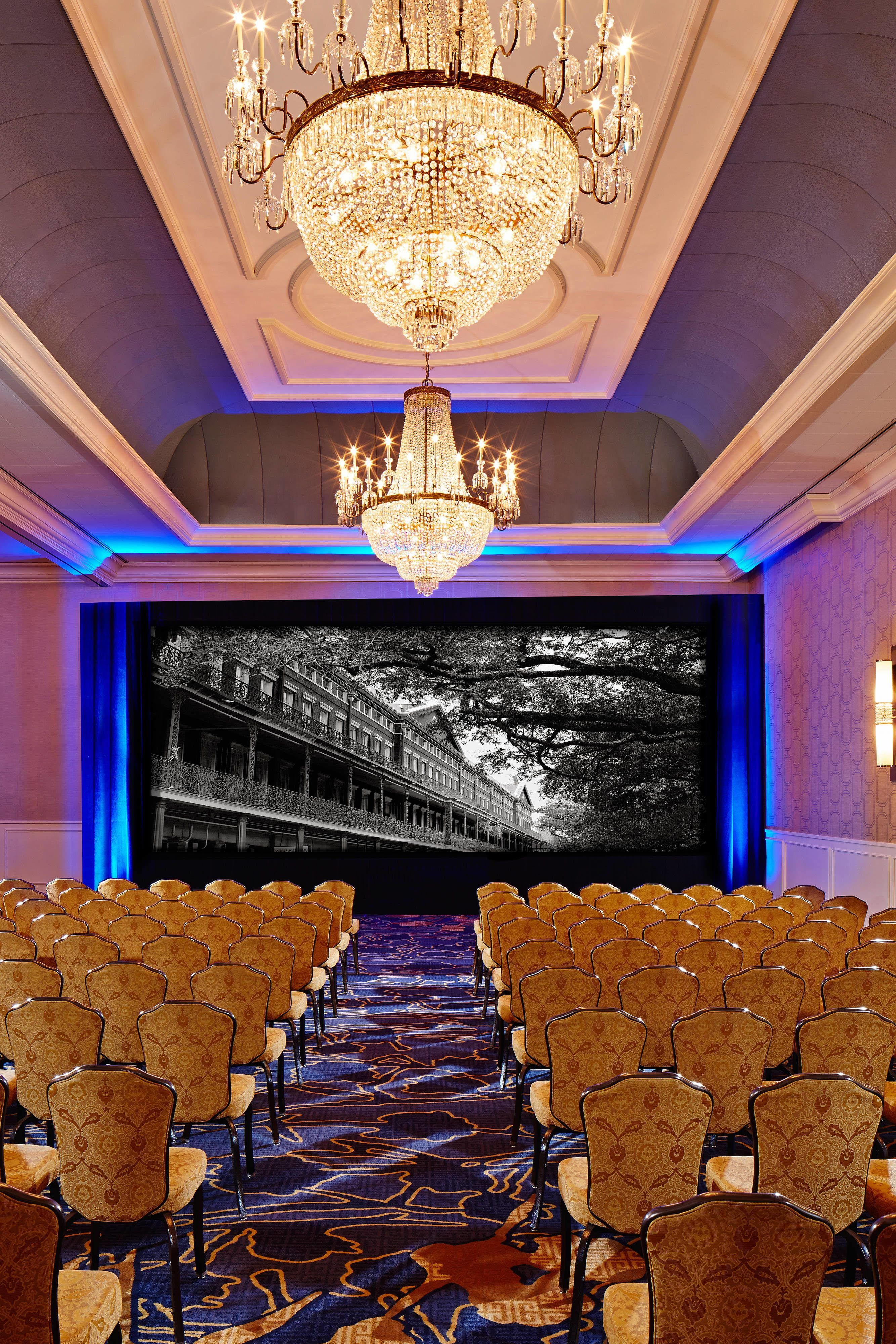 jw marriott new orleans meeting room theatre set up 80454