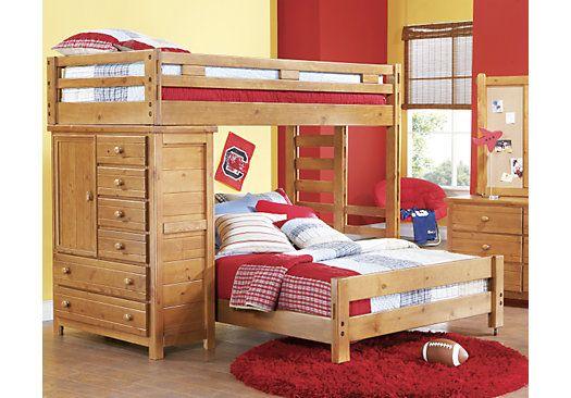 Shop For A Creekside Taffy Twin Full Student Loft Bedroom
