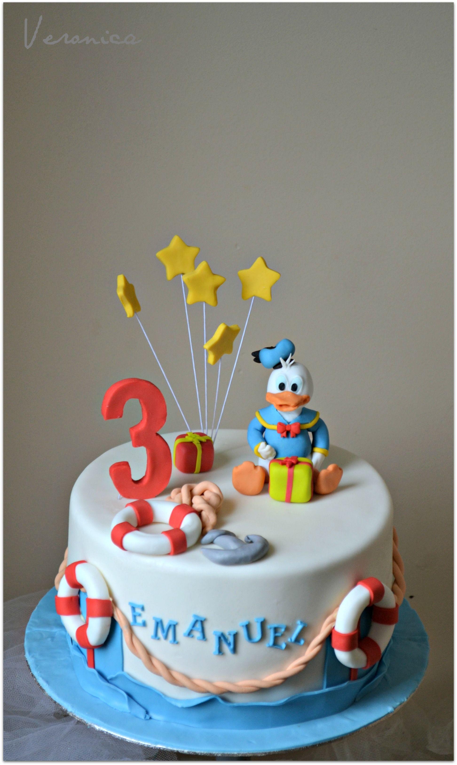 Donald Duck Cake Birthday Party Ideas Pinterest Duck Cake