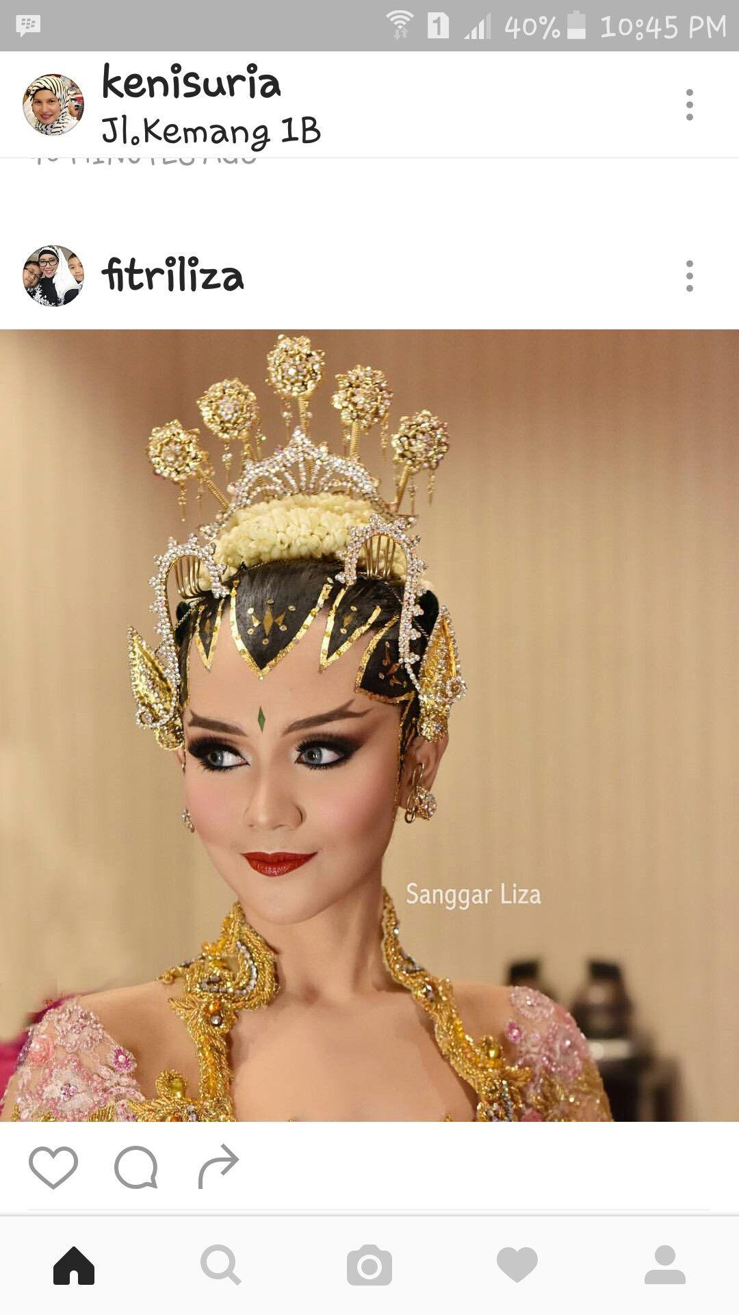 Pin oleh mbu Ita anita di wedding tradisional indonesia