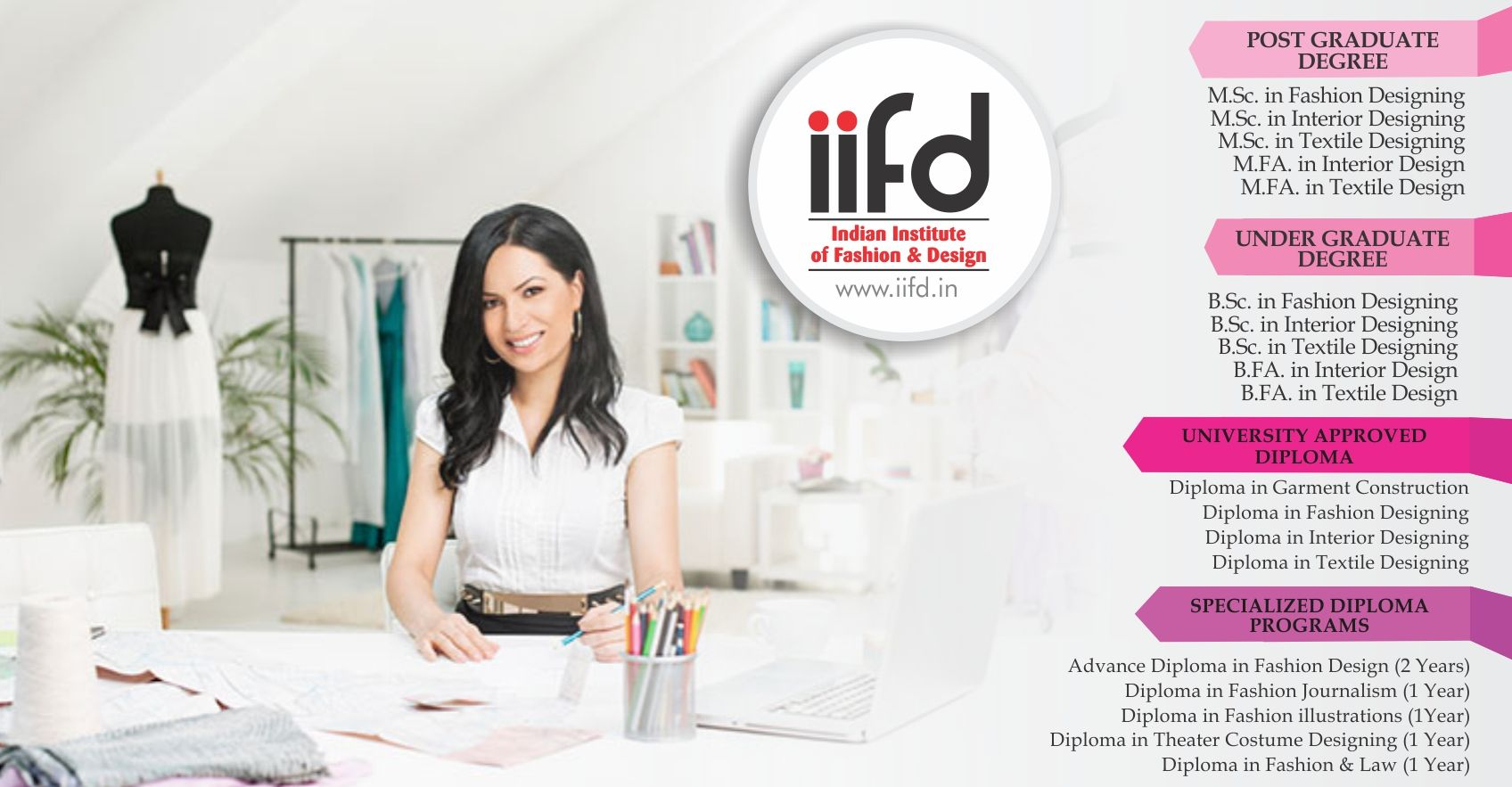 Best Fashion Degree Institute In Chandigarh 100 Placement Call Now 09803329989 Htt Fashion Designing Institute Fashion Designing Course Fashion Degrees