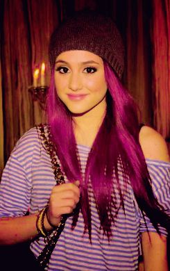 She Has Had Red Brown Blonde And Purple Hair Which Colore Is Ur Fave Brown To Blonde Purple Hair Cool Hairstyles