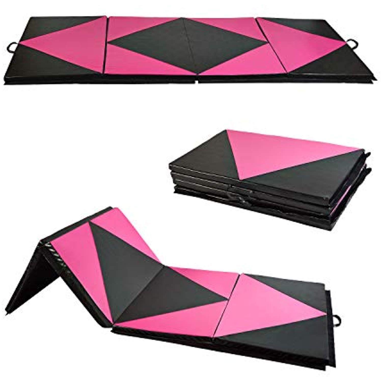 Outdoor Basic Gymnastics Tumbling Mat Folding Thick