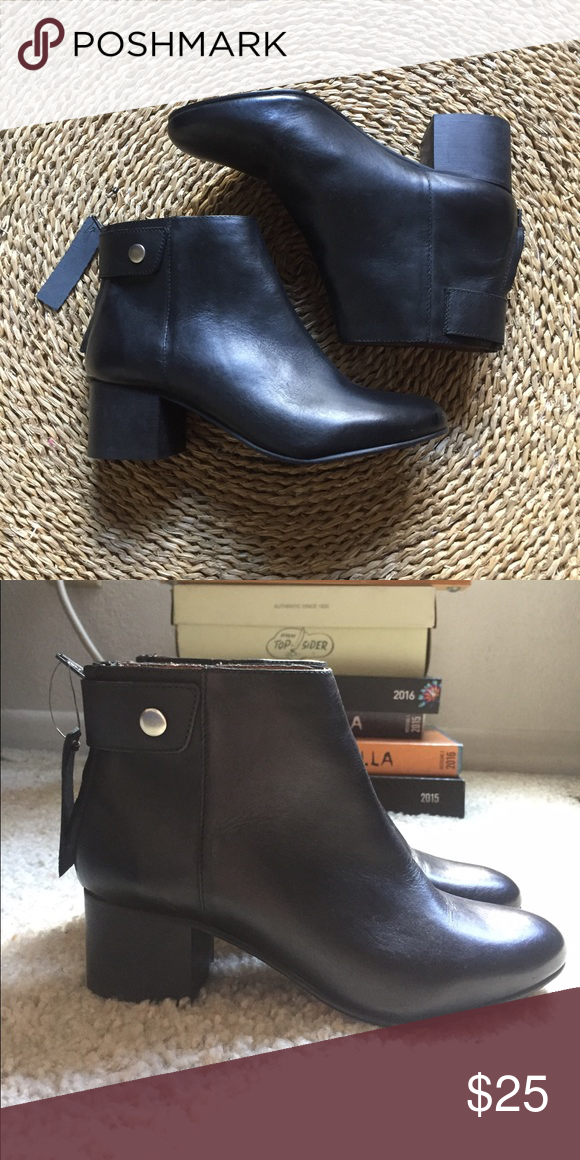 f19decf6e26 Topshop Black Ankle Boots Beautiful black Topshop leather ankle ...