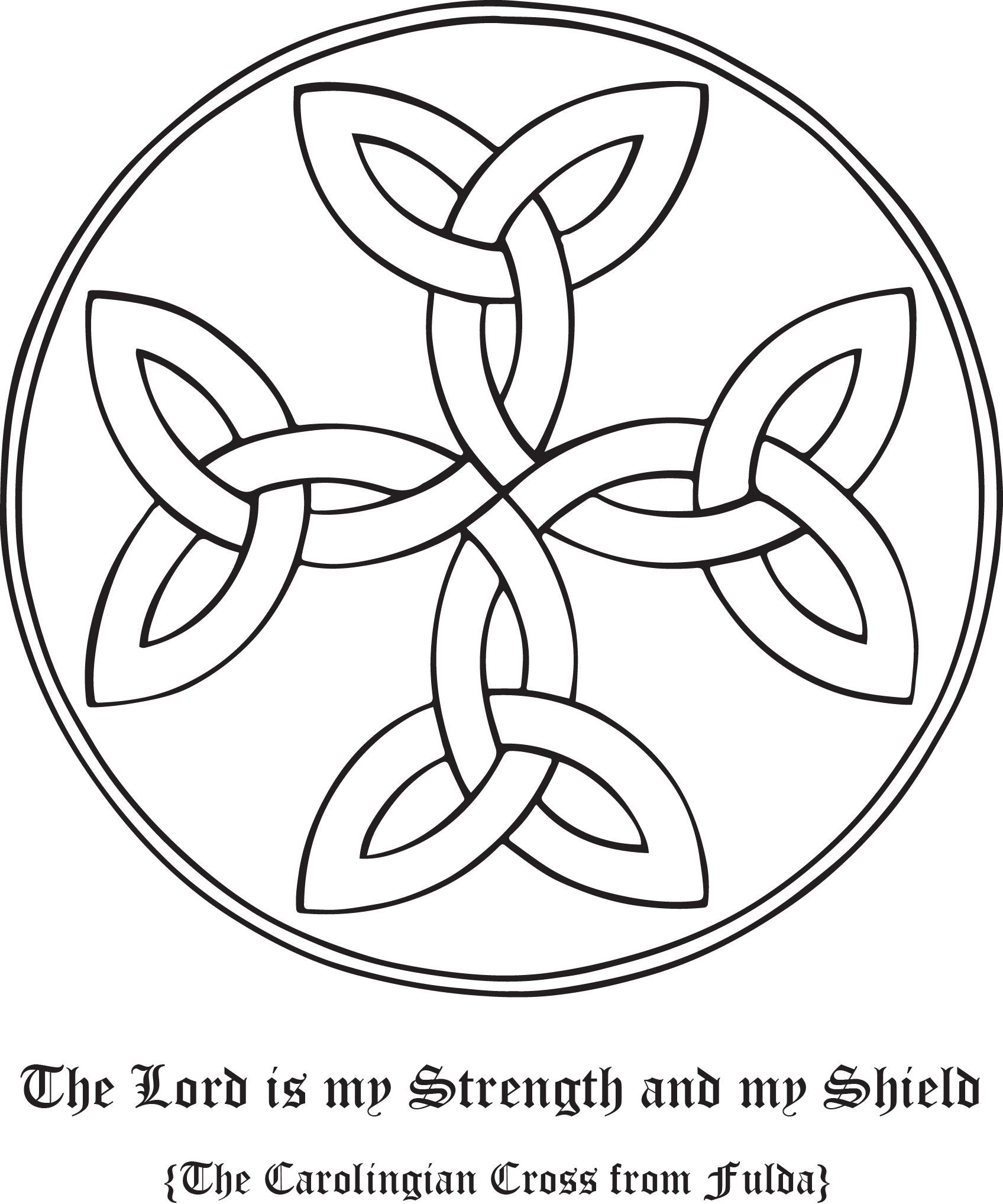 Rudolf koch christian symbol 100 carolingian cross symbols show your support for your faith with rudolf kochs christian symbols these gorgeous and eternally biocorpaavc Gallery