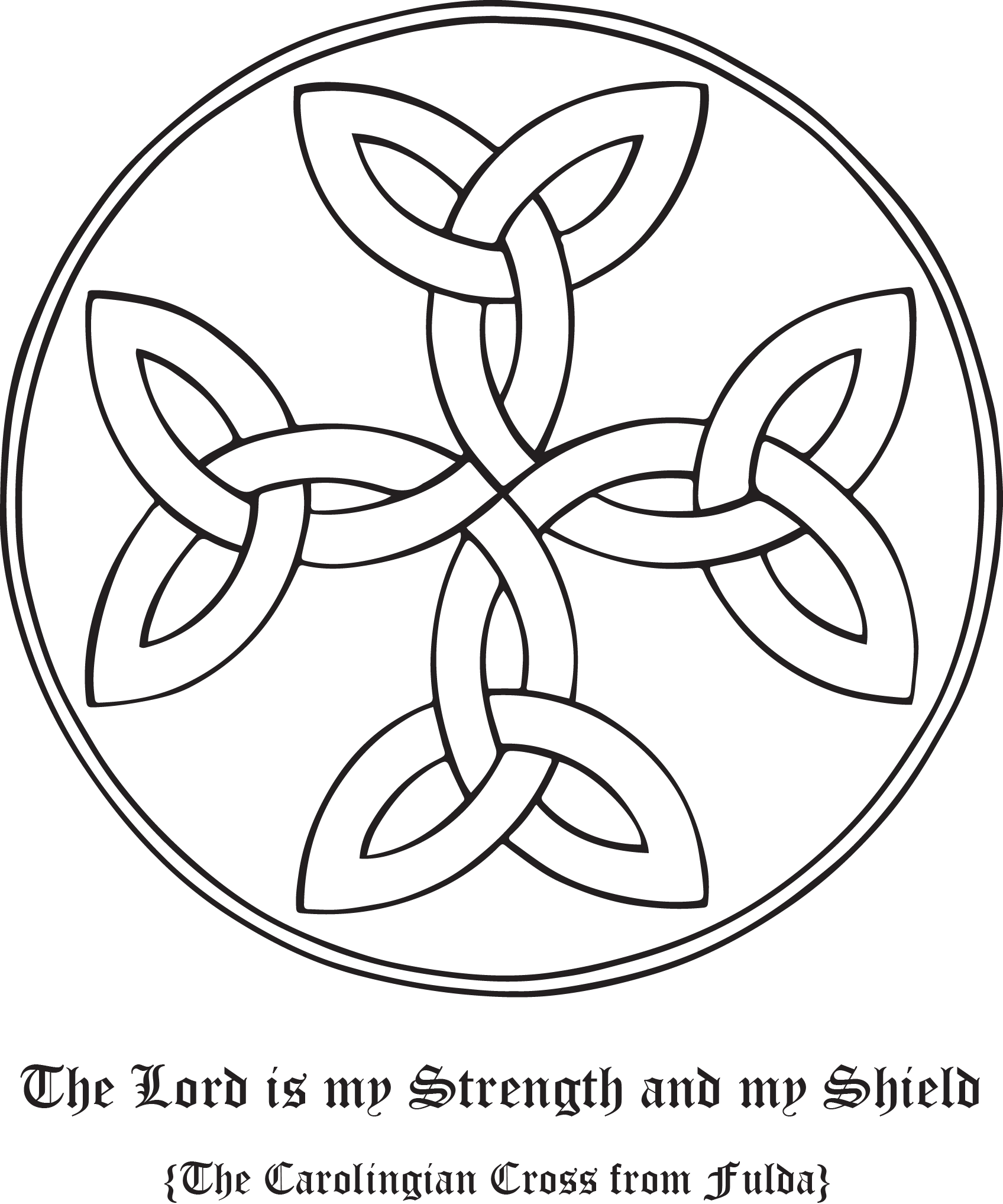 Show your support for your faith with Rudolf Koch's