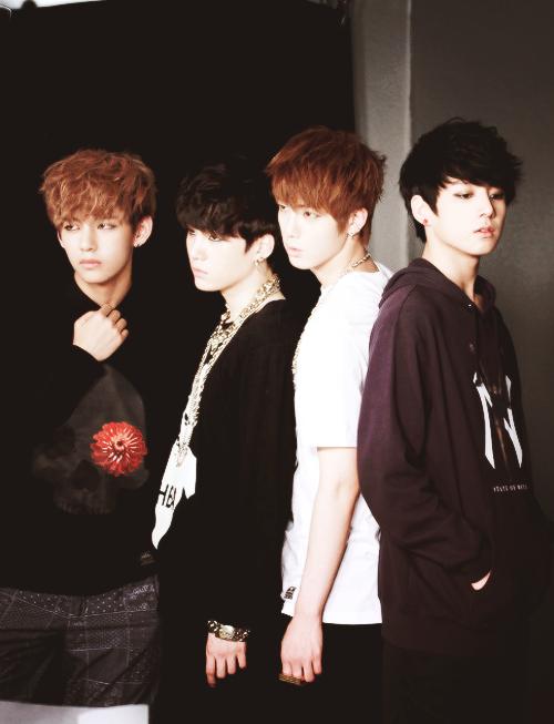 Bangtan Boys ❤ Taehyung (v), Yoongi (suga), Seokjin (jin) & Jungkook (kook) | tumblr