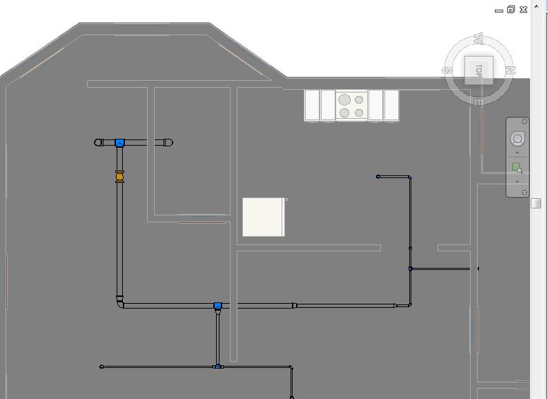 يلا نتعلم المساحة المحمية تصميم نظام رشاشات أوتوماتيك لمكافحة الحريق Education Floor Plans Areas