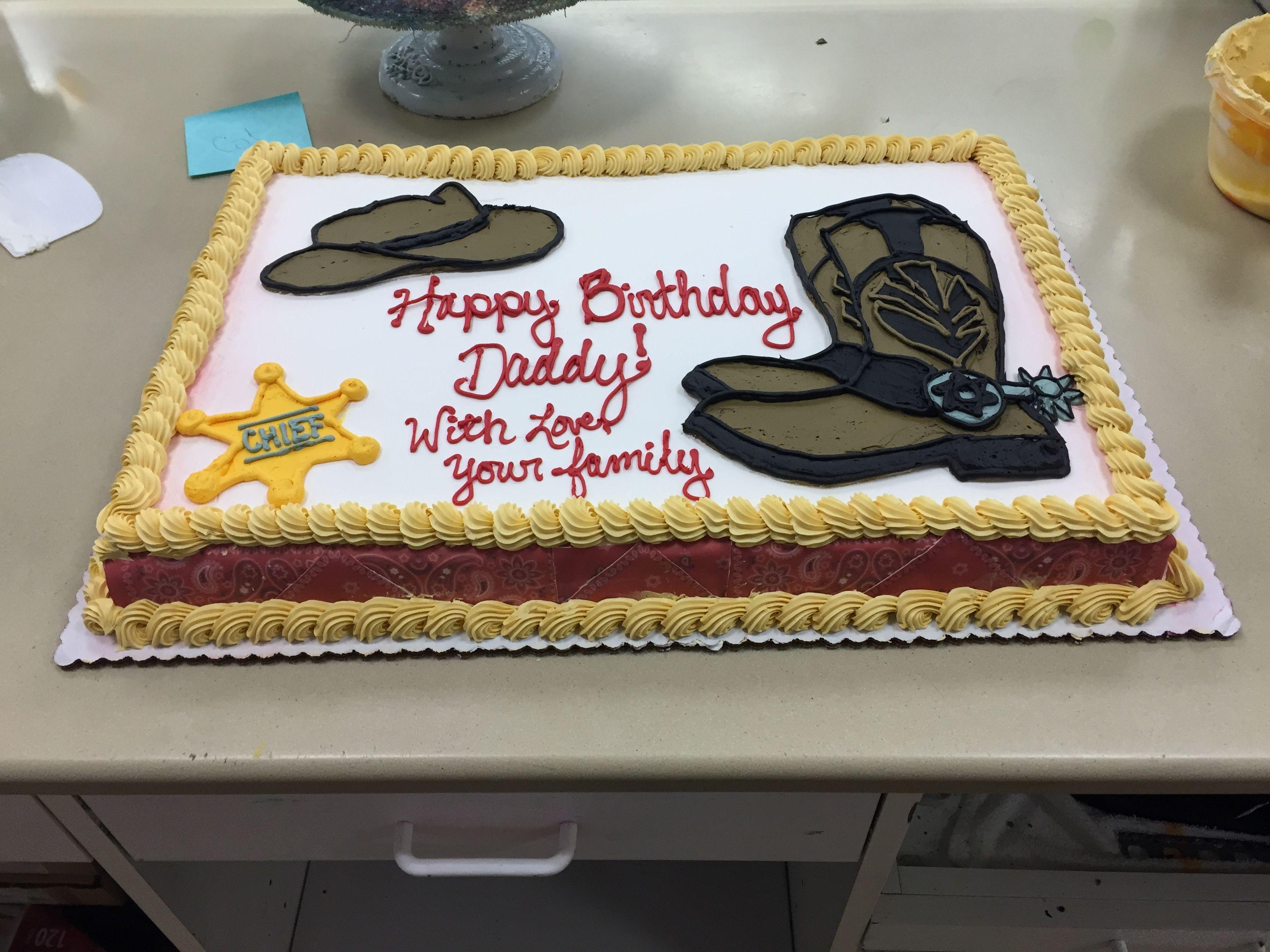 Remarkable Western Themed Cowboy Cake Spring 2015 Cowboy Birthday Cakes Funny Birthday Cards Online Alyptdamsfinfo