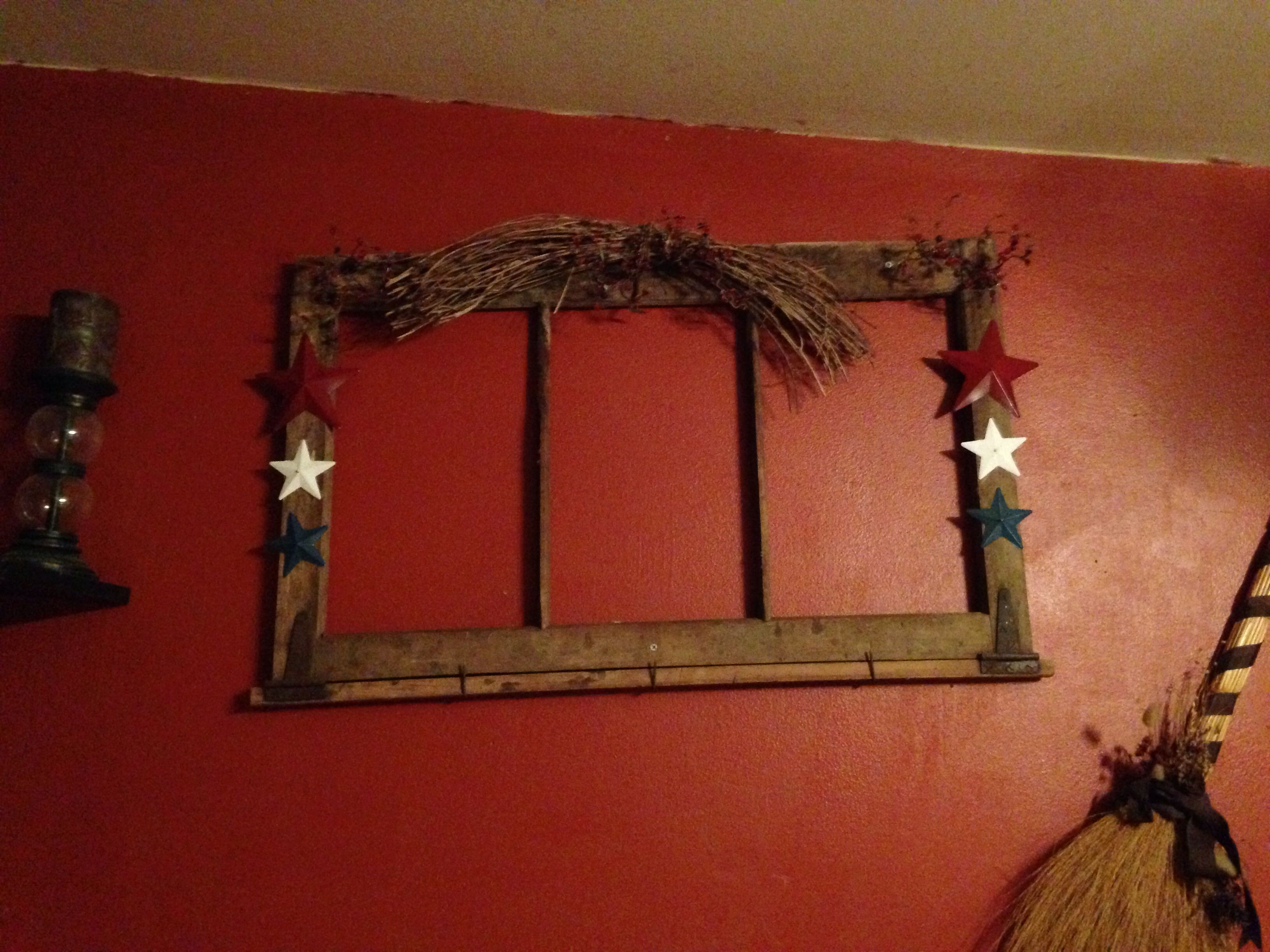 Primitive window frame