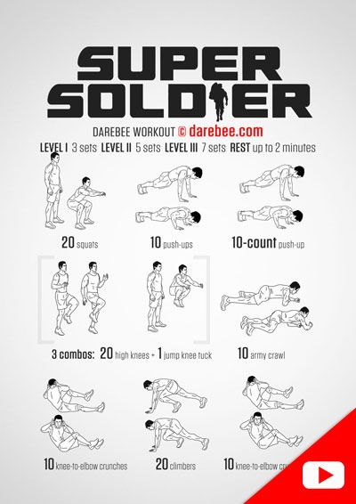 Great bodyweight circuit that you can do anywhere ...