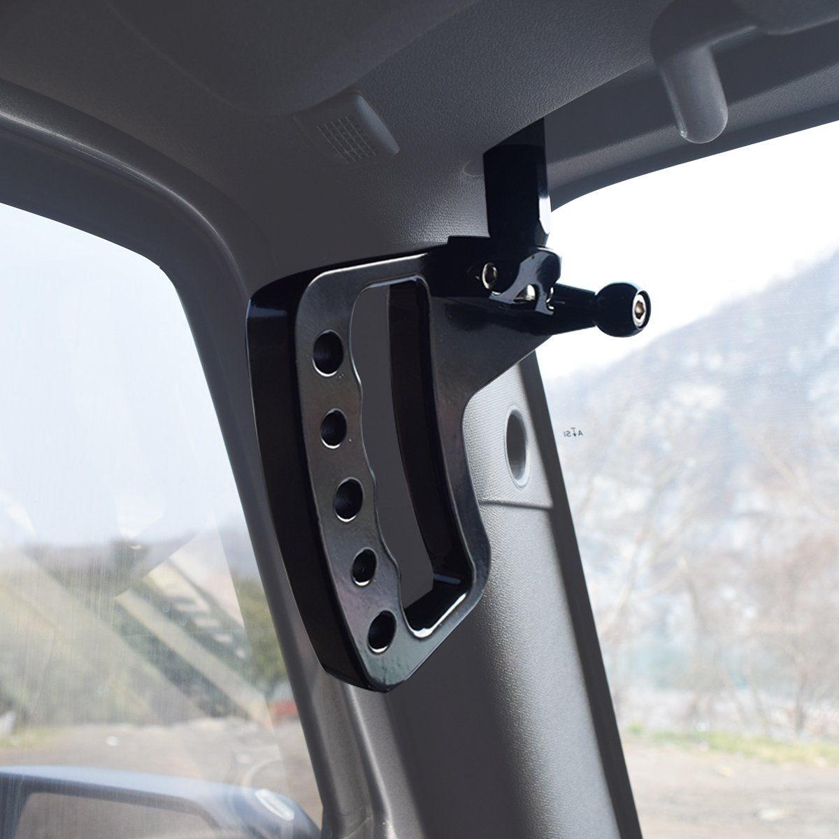 New Aluminum Grab Handles GraBars for Jeep Wrangler JK JKU