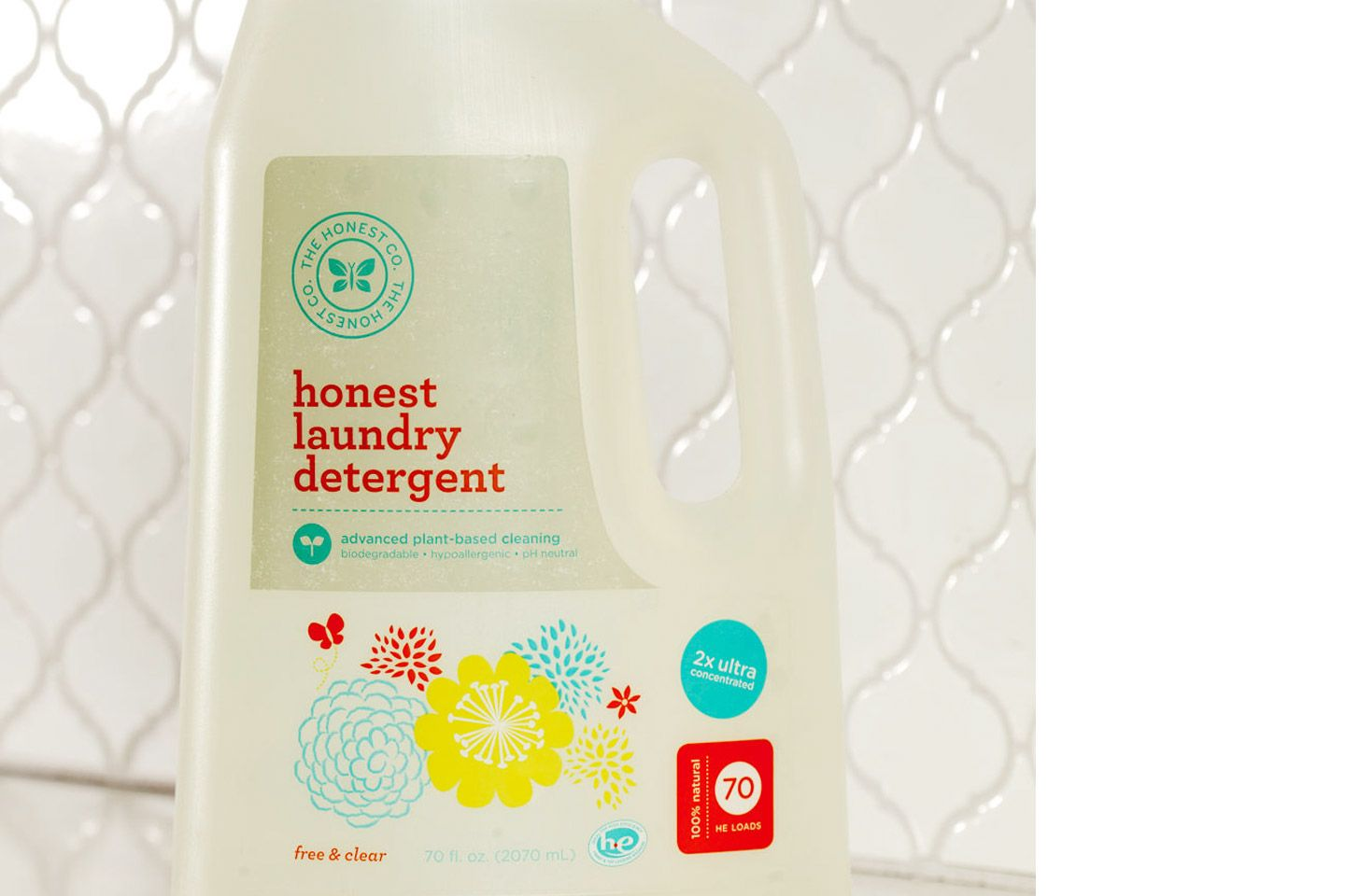 We Use The Honest Company Laundry Detergent For Everything But Our