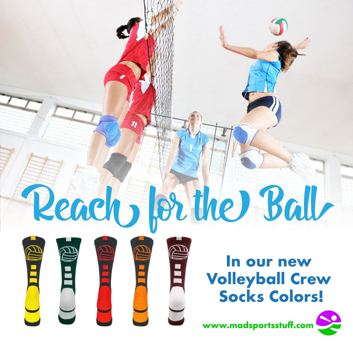 Crew Volleyball Socks With Logo Multiple Colors Basketball Shorts Girls Volleyball Socks Usc Basketball