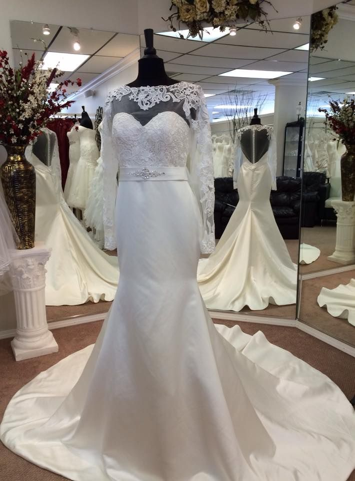 Linh S Bridal In Okc Custom Wedding Gown Custom Wedding Gown Bridal Wedding Gowns