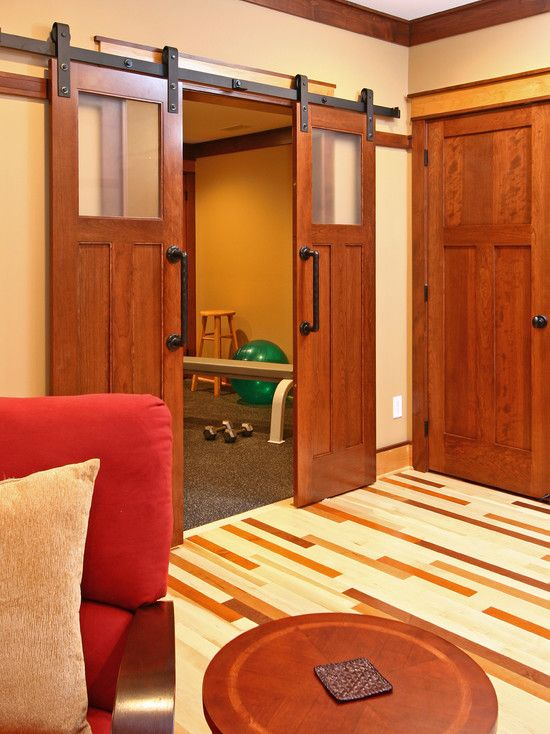 Interior Sliding Barn Door Design Pictures Remodel Decor And Ideas Page 12 Interior Sliding Barn Doors Home Gym Design Traditional House