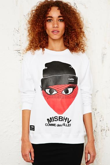Misbhv Comme Des Filles Sweatshirt at Urban Outfitters