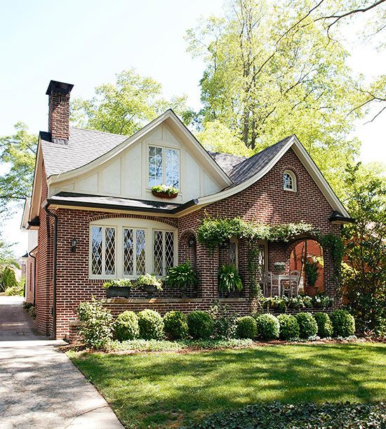 Tudor Style Home Ideas That Bring Old World Style Into The Modern Age Brick Exterior House Tudor Style Homes House Styles