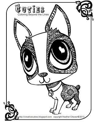 Cuties Coloring Pages : cuties, coloring, pages, Creative, Cuties, Coloring, Pages,, Books,, Pages