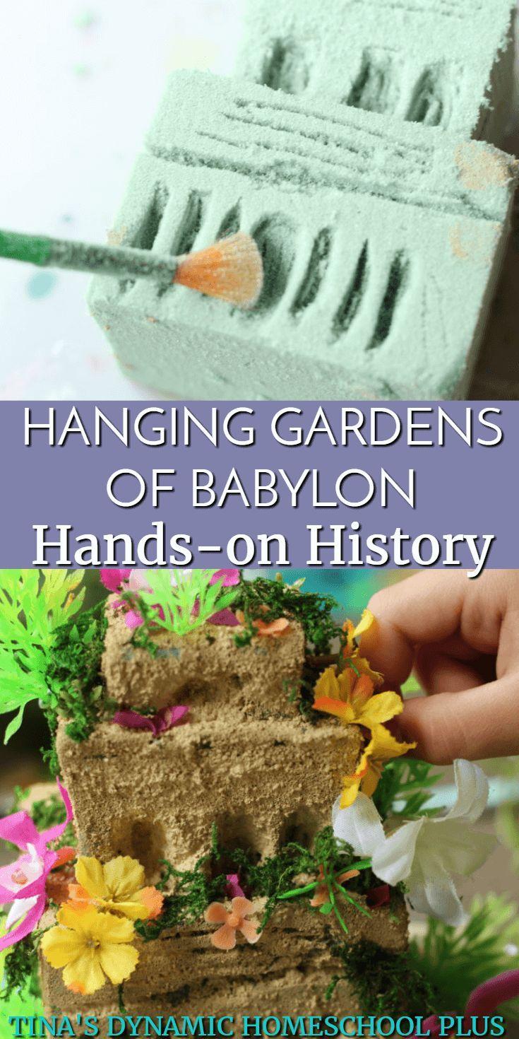 The Hanging Gardens Of Babylon For Kids