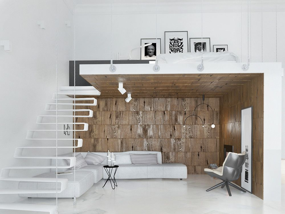 Loft Beds Maximizing Space Since Their Clever Inception Small Room Design Small Studio Apartments Mezzanine Bed