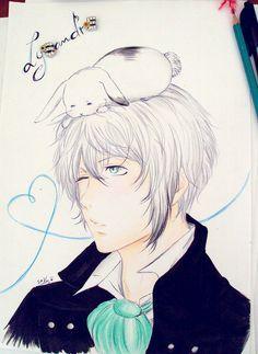 Lysandre and bunny by sakura-streetfighter on DeviantArt