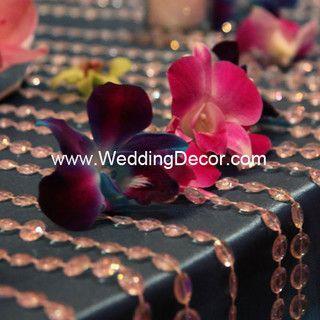Brazilian Carnival Masquerade Wedding Reception Orchids By WeddingDecor Via Flickr