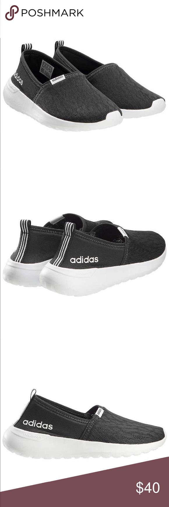 Black Adidas Memory Foam Slip On