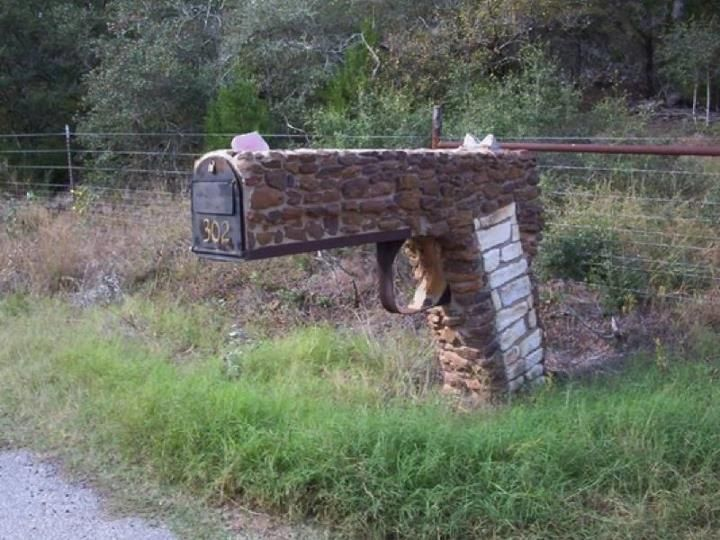 Hillbilly Fab Don T Let My Husband See This Or My Dad For That Matter We Would Have Matching Mailboxes Brick Mailbox Mailbox Mailbox Design