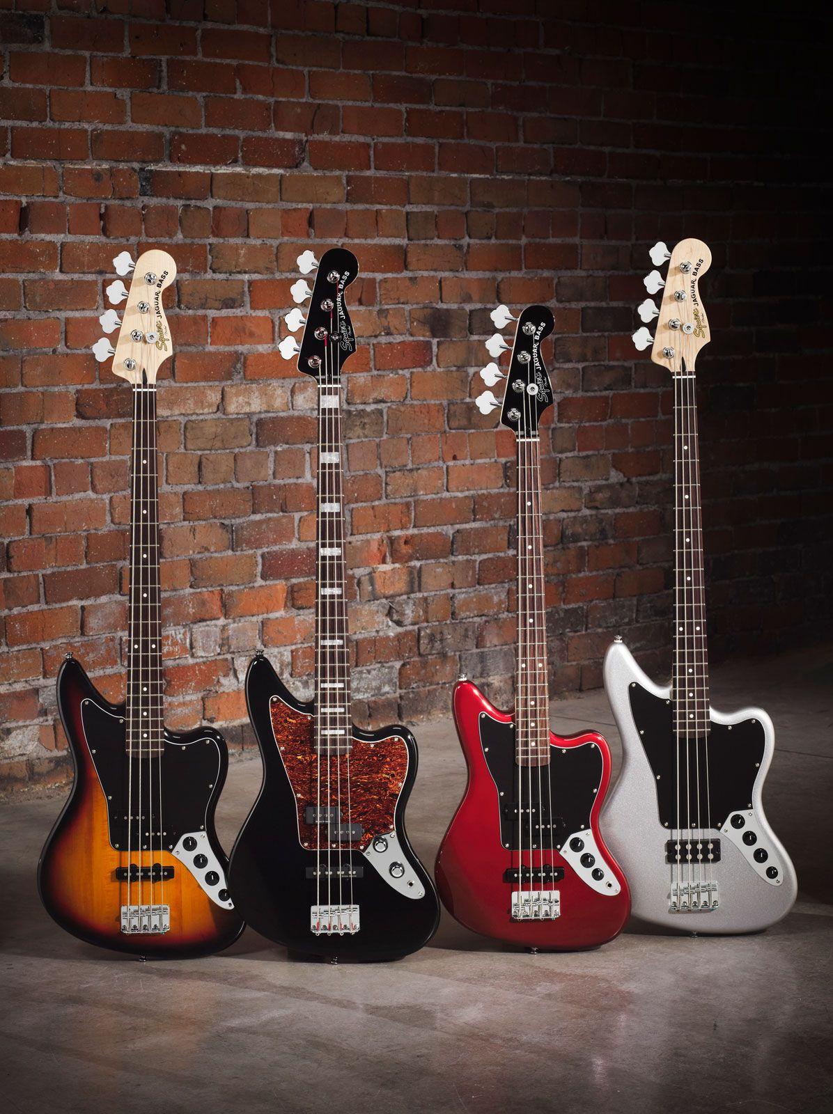 Squier Vintage Modified Jaguar Basses Special 3 Tone Sunburst Bass Guitar Fender Jaguar Squier