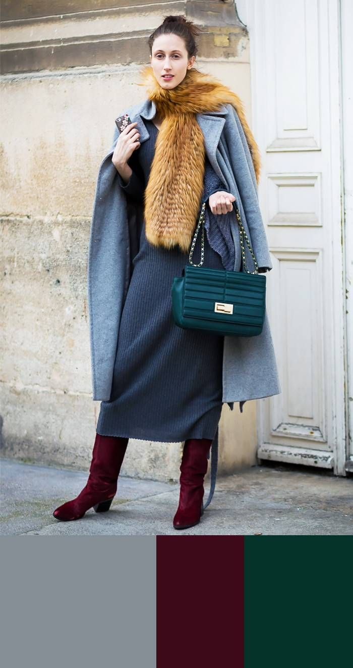 Extra-Easy Winter Colour Combos to Try Now | Street style ...