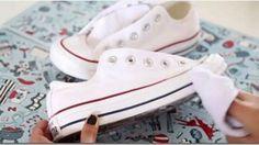 Trucos Para Dejar Las Zapatillas Blancas Como Nuevas Salud Con Remedios Como Limpiar Zapatos Blancos Limpieza De Zapatos Como Limpiar Zapatillas
