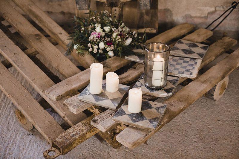 Detalles deco de La Estación, industrial events – Cristina & Co. wedding planner #industrialwedding #bodaindustrial #wedding #boda