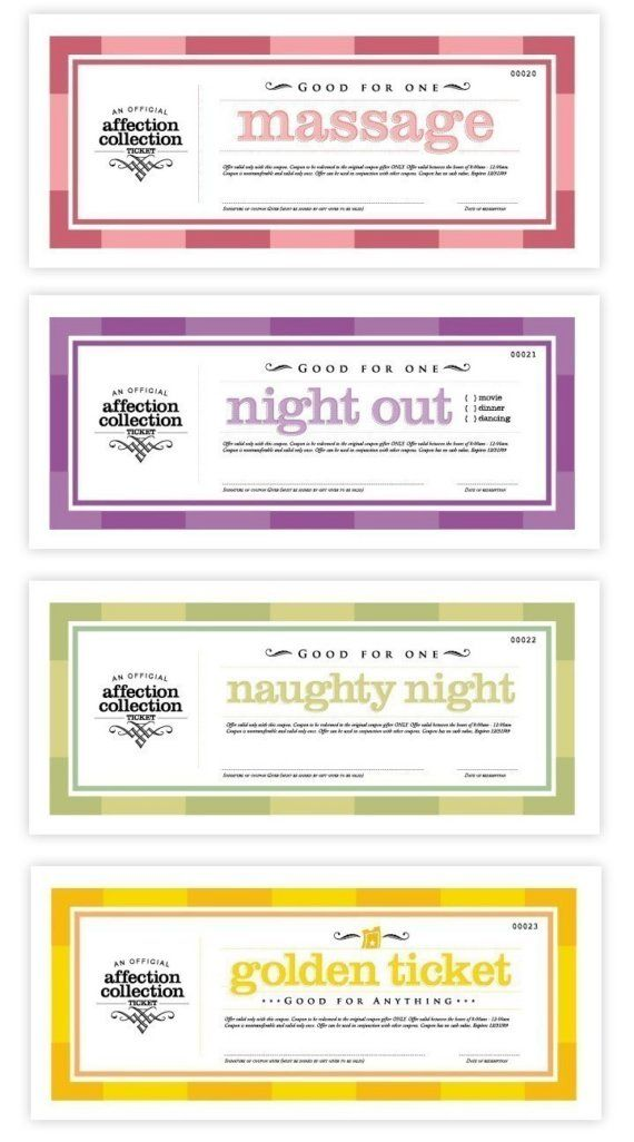 Love coupons printable | Valentines Day Gifts For Him | Pinterest ...