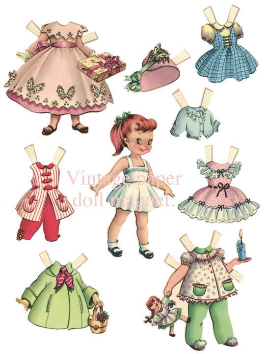 1940 S Paper Doll Set So Sweet Paper Dolls Printable Free Printable Paper Dolls Paper Dolls