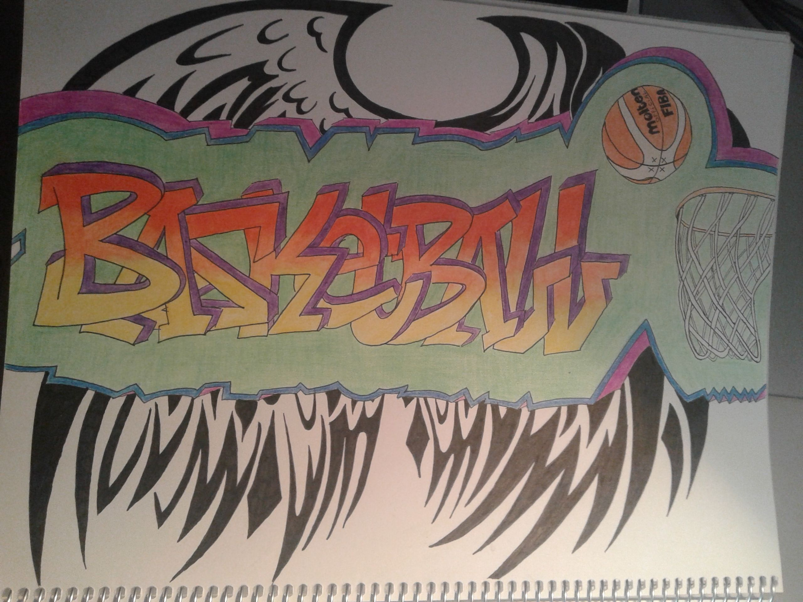 Drawing Graffiti Basketball Grafitti Pinterest Graffiti