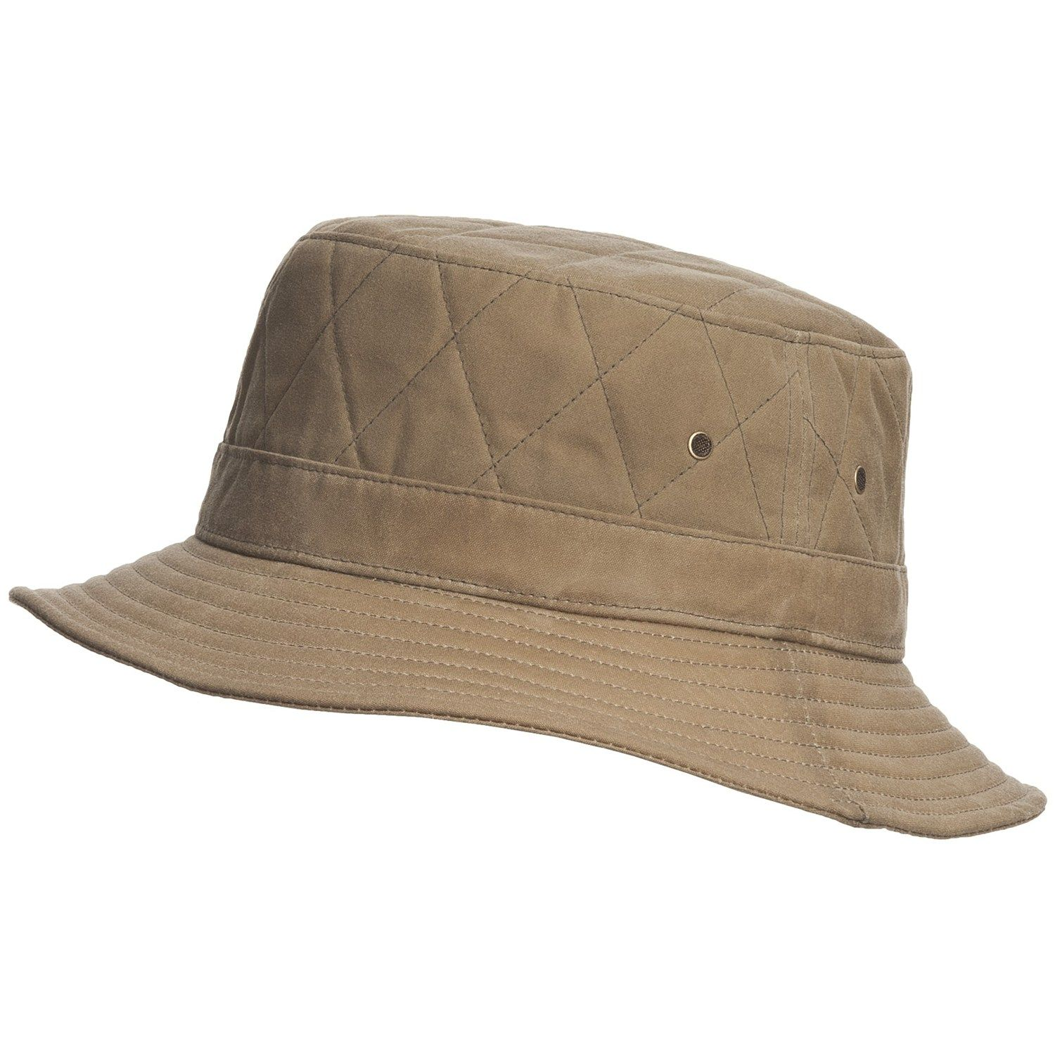 ff87745c Woolrich Bucket Hat - Cotton Oilcloth (For Men and Women) | SB ...