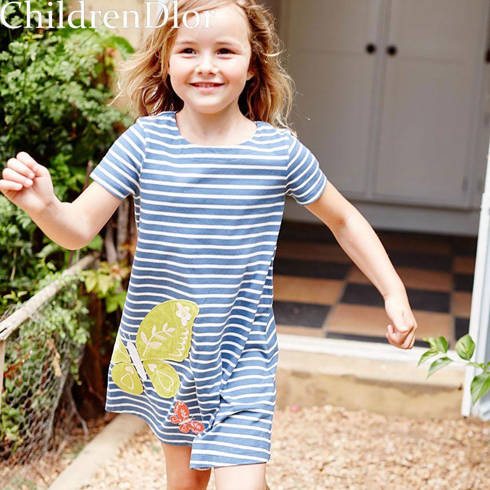 Summer dress girl brand casual kids costume for girls dresses