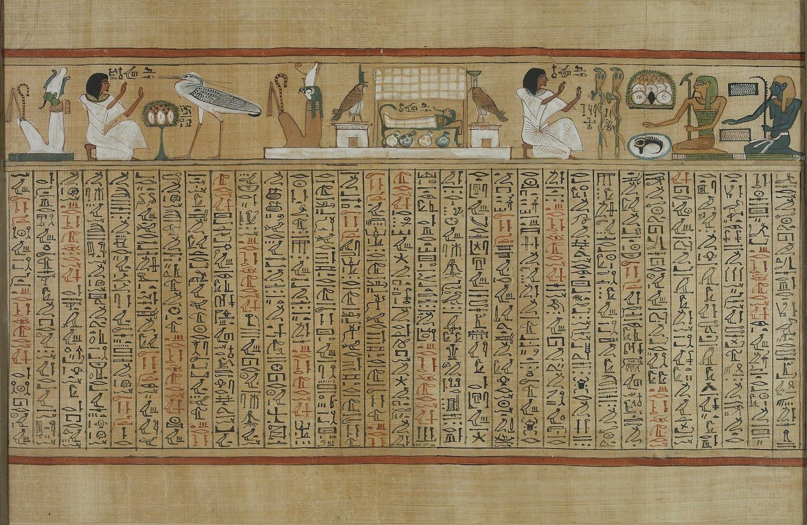 Egyptian Papyrus Computer Wallpaper