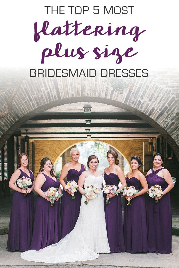 The most flattering dresses for plus size bridesmaids wedding 5 flattering dresses that are perfect for plus size bridesmaids ombrellifo Images