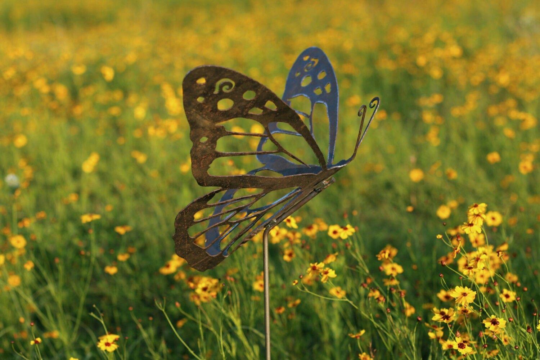 Pin by Garden Art Safari on Monarch Butterfly Garden Art / Yard Art ...
